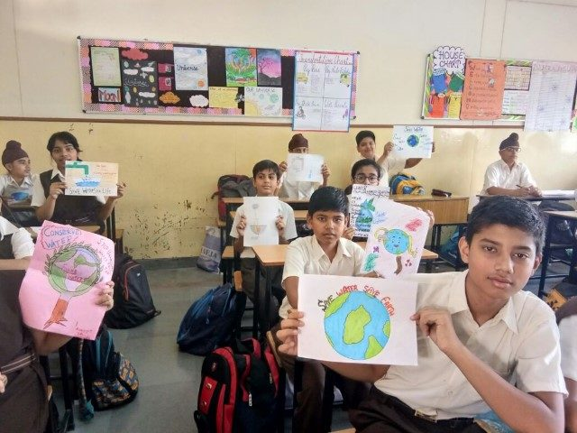 Club Activity – Poster Making and Slogan Writing Competition